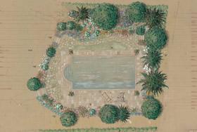 Giardino esotico mediterraneo in Liguria