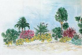 Un giardino pensile a Nizza