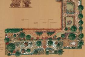 Piante tappezzanti in un giardino in Versilia