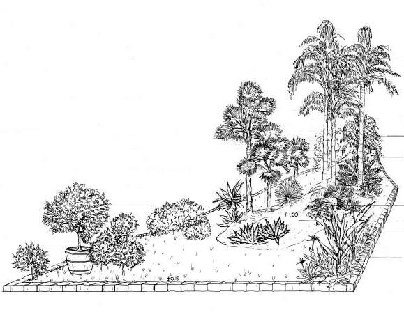 Euroflora 2011 un giardino mediterraneo progettare giardini for Disegno giardini