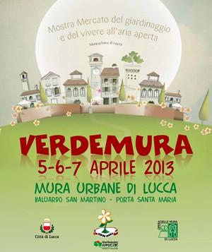 Verdemura mostra mercato di giardinaggio Lucca 2013