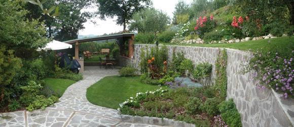 Progetto giardino mediterraneo a sorbolo progettare giardini - Progetto per giardino ...